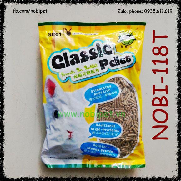 Classic Pellet Thức Ăn Cỏ Nén 500gr Cho Thỏ Con Và Bọ Ú Nobi-118T