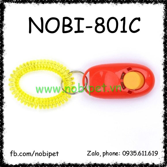Clicker Nobi-801C - Đồ Chơi Huấn Luyện Sóc Cảnh Nghe Lời