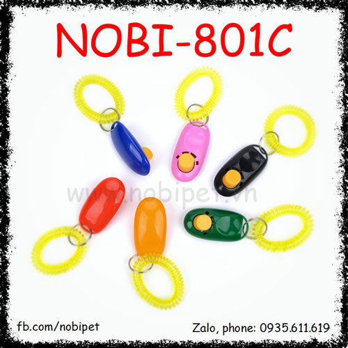 Clicker Huấn Luyện 007 Dạy Chó Nghe Lời Nobi-801C