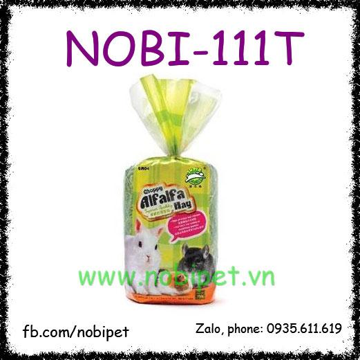 Cỏ Khô New Choppy Alfalfa Hay Thức Ăn Cho Thỏ Bọ 750gr Nobi-111T