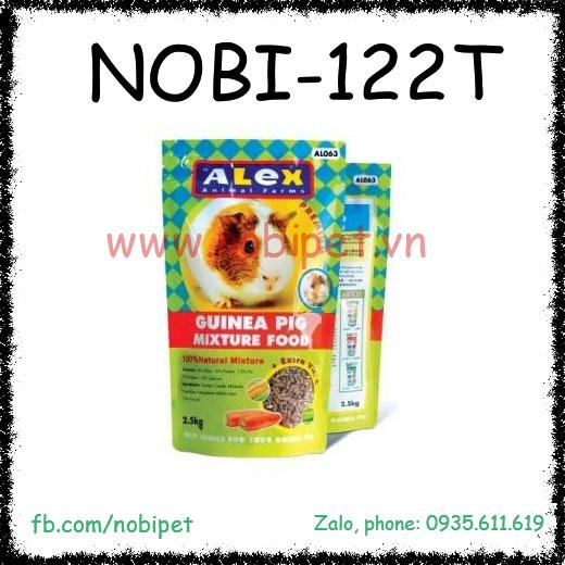 Cỏ Nén Alex 2.5kg Guinea Pig Mixture Food Thức Ăn Cho Bọ Ú Nobi-122T