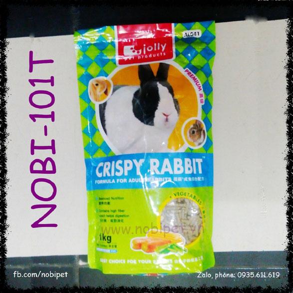 Cỏ Nén Crispy Rabbit 1kg Thức Ăn Cao Cấp Cho Thỏ Bọ Nobi-101T