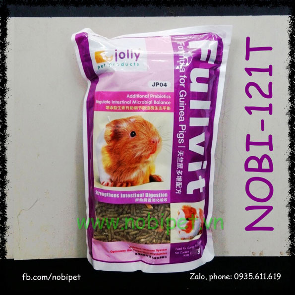 Cỏ Nén Fullvit 2.5kg Thức Ăn Cao Cấp Cho Bọ Ú Guinea Pig Nobi-121T