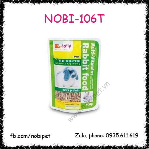 Cỏ Nén Jolly Rabbit Food 100gr Cho Thỏ Bọ Nobi-106T