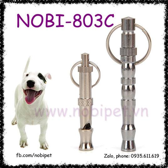 Còi Siêu Âm Megahec Inox Huấn Luyện Chó Nobi-803C