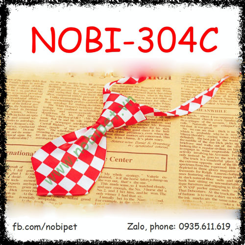 Cravat Đeo Cổ Doctor Cho Chó Sành Điều Nobi-304C