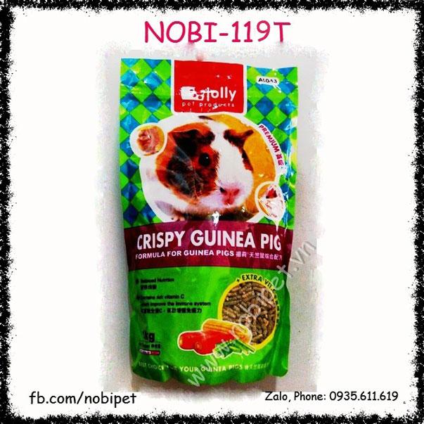 Crispy Guinea Pig 2.5kg Cỏ Nén Cao Cấp Cho Bọ Ú Nobi-119T