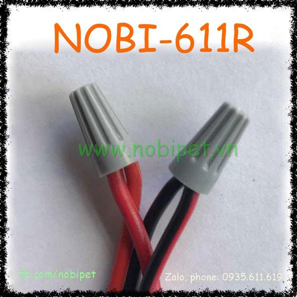 Cút Su Nối Dây Điện Size Nhỏ Cho Apdater Và Bơm Tăng Áp Nobi-611R