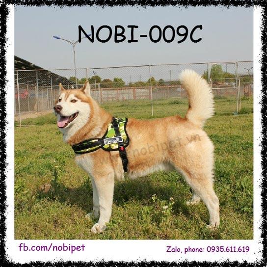Đai Yếm Rambo Vòng Đeo Cổ Cho Chó Lớn Không Đau Nobi-009C