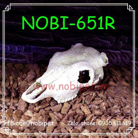Đầu Bò Phong CảnhTrang Trí Chuồng Nuôi Bò Sát Nobi-651R