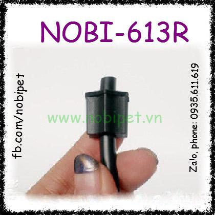 Đầu Nối Ống Nước Với Bơm Tăng Áp Ren Vặn Cho Bò Sát Nobi-613R