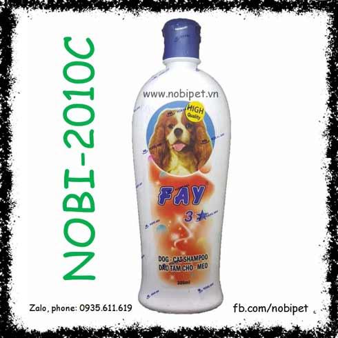 Dầu Tắm FAY 3 Sao Cho Chó Mèo Khử Mùi Hôi – Trị Ve – Giữ Ẩm Da