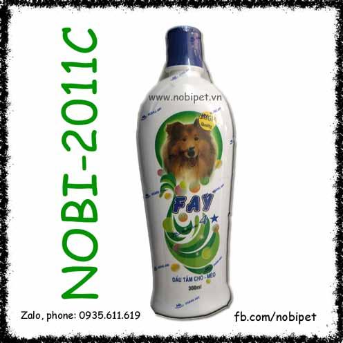 Dầu Tắm FAY 4 Sao Cho Chó Mèo Diệt Ve – Mượt Lông – Khử Mùi – Giữ Ẩm