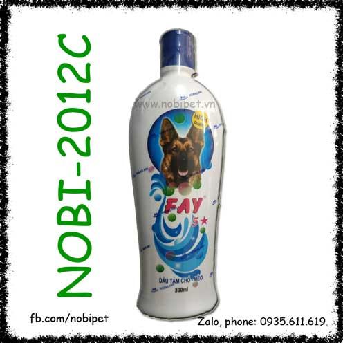 Dầu Tắm FAY 5 Sao Cho Chó Mèo Chăm Sóc Da Lông Toàn Diện Nobi-2012C