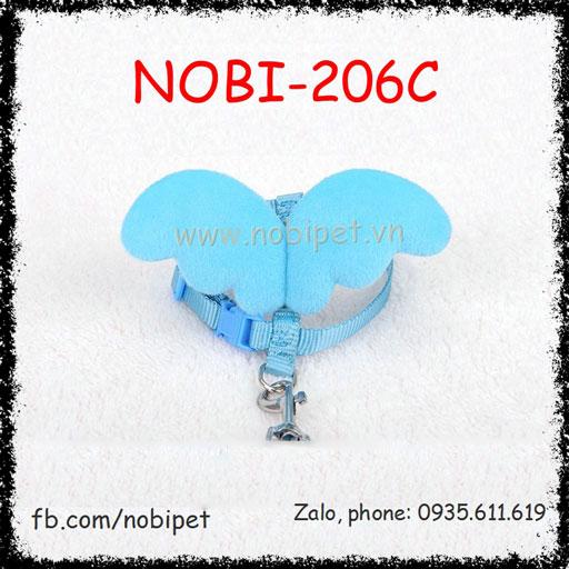 Dây Dắt Chó Angle Đai Yếm Trọn Bộ Nobi-206C