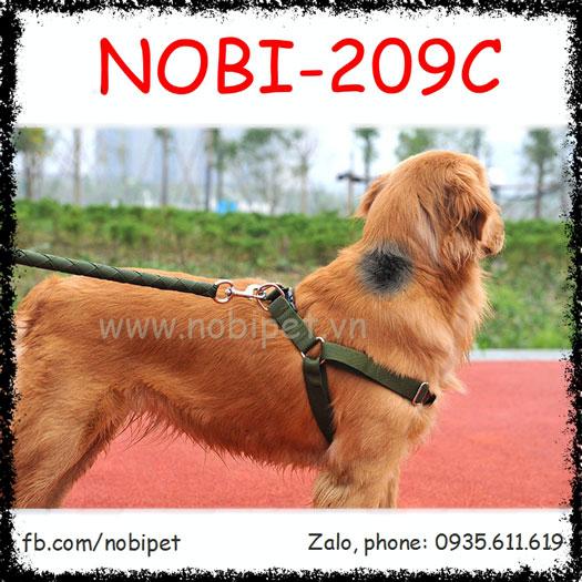 Dây Dắt Chó Batman Đai Yếm Trọn Bộ Dòng Lớn Nobi-209C