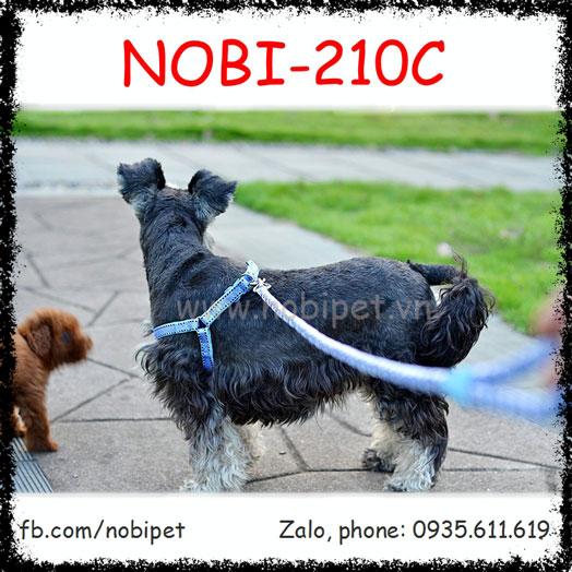 Dây Dắt Chó Berlin Đai Yếm Trọn Bộ Nobi-210C