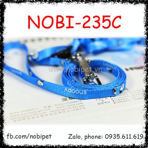 Dây Dắt Chó Bigfoot Đai Yếm Trọn Bộ Nobi-235C