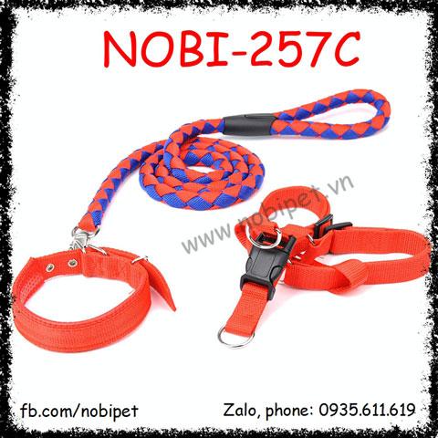 Dây Dắt Chó Croatia 3 Trong 1 Mạnh Mẽ Nobi-257C