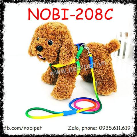 Dây Dắt Chó Disney Đai Yếm Trọn Bộ Nobi-208C
