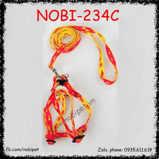 Dây Dắt Chó Libra Đai Yếm Trọn Bộ Nobi-234C
