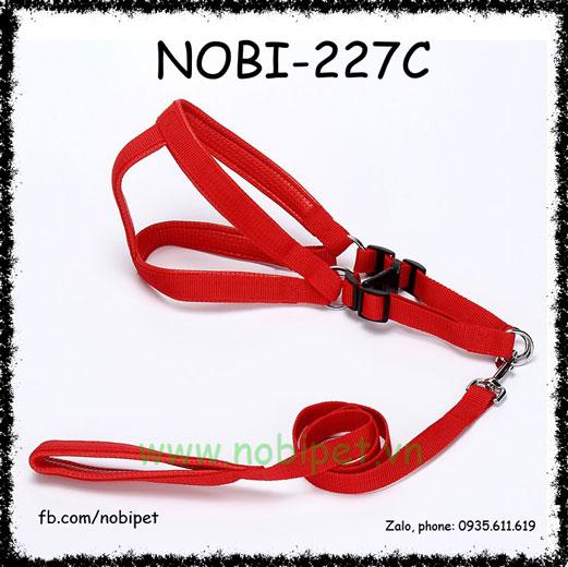 Dây Dắt Chó London Đai Yếm Trọn Bộ Nobi-227C