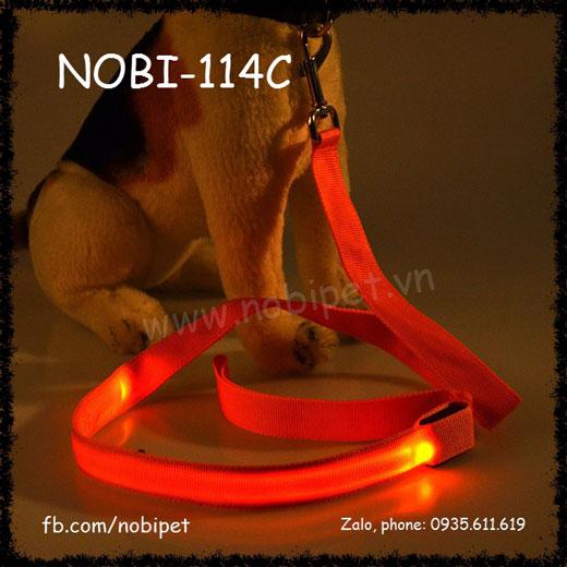Dây Dắt Chó Neon Có Led Phát Quang Nobi-114C