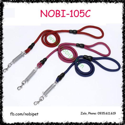Dây Dắt Chó Piston Lò Xo Cho Cún Vừa Và Lớn Nobi-105C