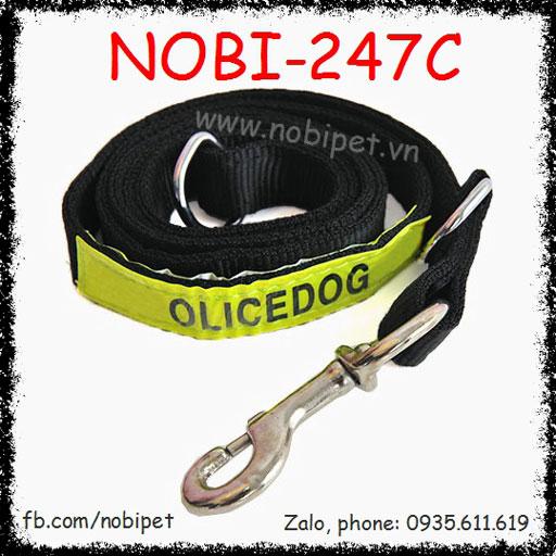 Dây Dắt Chó Repolice Nghiệp Vụ Kiểu Vòng Cổ Nobi-247C
