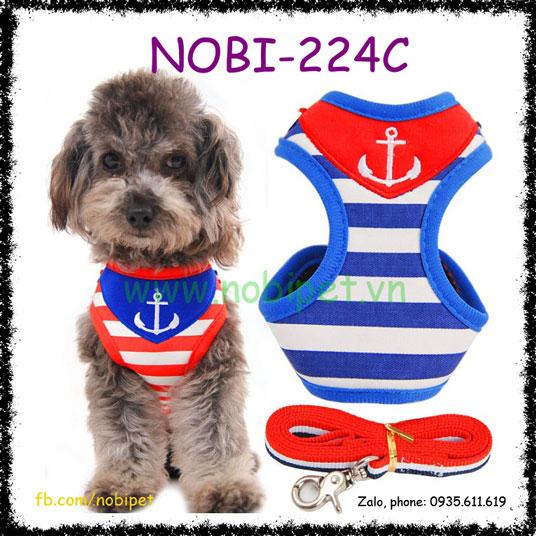 Dây Dắt Chó Seaman Trọn Bộ Áo Yếm Nobi-224C