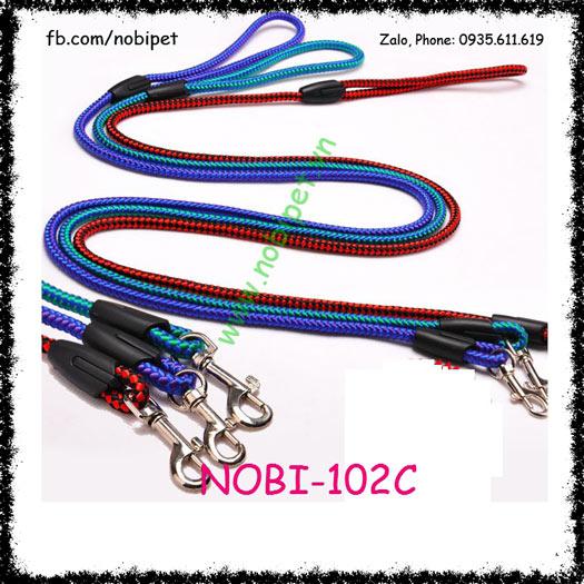 Dây Dắt Chó Spider Man Cho Chó Vừa và Nhỏ Nobi-102C