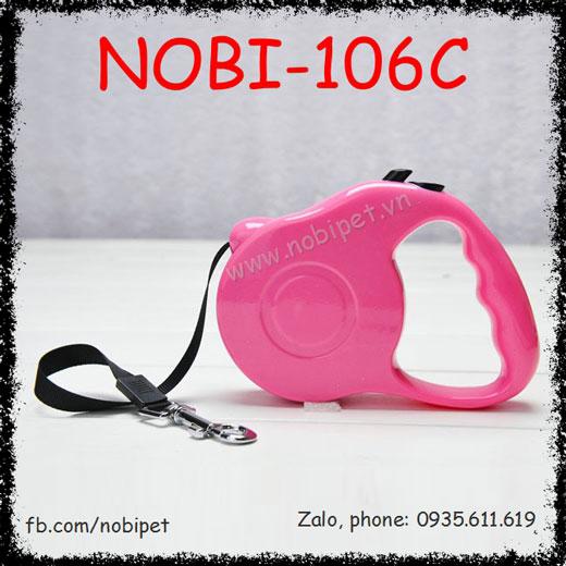 Dây Dắt Chó Storm Bấm Rút Nhanh Nobi-106C