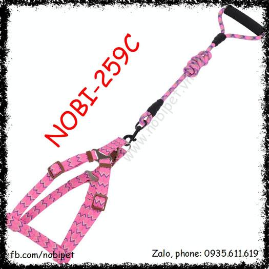 Dây Dắt Nigeria Trọn Bộ Kiểu Đai Ngực Chắc Chắn Cho Chó Nobi-259C
