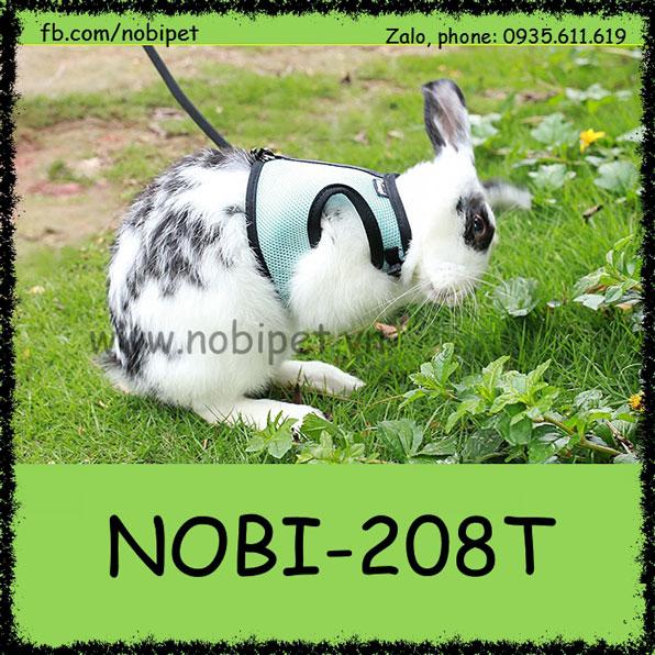Dây Dắt Yếm Baby Thời Trang Cho Thỏ Kiểng Bọ Ú Lớn Nobi-208T