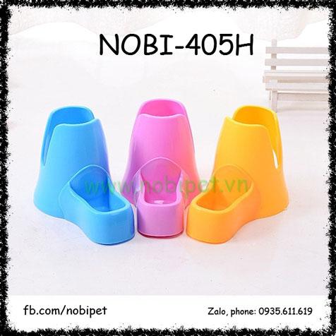 Đế Giữ Bình Nước 2 Trong 1 Nhựa Cho Nhím Kiểng Nobi-405H