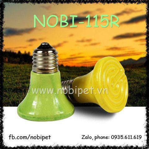 Đèn Sưởi Color Sứ Đa Công Suất Cho Chuột Hamster Nobi-115R