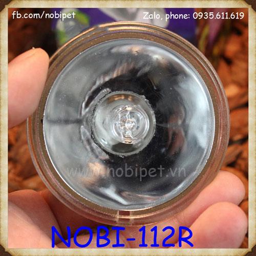Đèn sưởi mặt trời UVA UVB 3.0 cho trăn rắn nhện rùa nước Nobi-112R