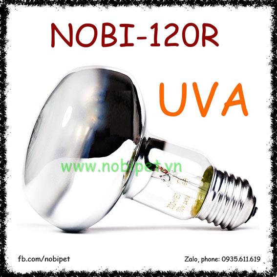 Đèn Sưởi Ngày Zoomed UVA Cho Bò Sát Nhiều Công Suất Nobi-120R