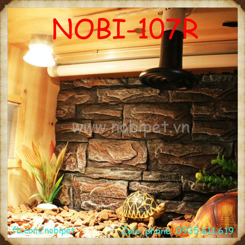 Đèn Sưởi Sứ Cách Điện Nomo Đa Công Suất Cho Bò Sát Nobi-107R