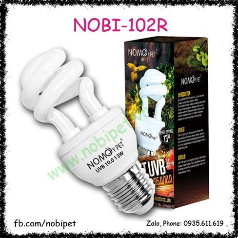 Đèn UVB 10.0 13W Cho Bò Sát Hãng Nomoypet Nobi-102R