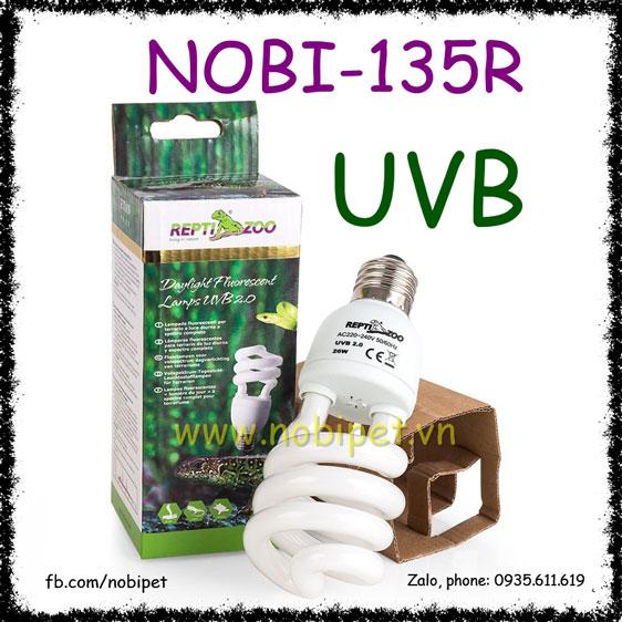 Đèn UVB 10.0 Reptizoo Tiết Kiệm Điện Cho Bò Sát Sa Mạc Nobi-135R