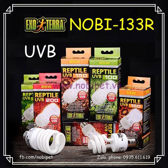 Đèn UVB Exo Terra Đa Quang Phổ Và Công Suất Cho Bò Sát Nobi-133R