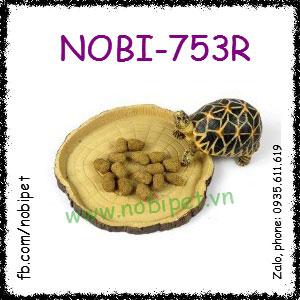 Dĩa Gỗ Mô Hình Đựng Thức Ăn Cho Rùa Rồng Nam Mỹ Bò Sát Nobi-753R