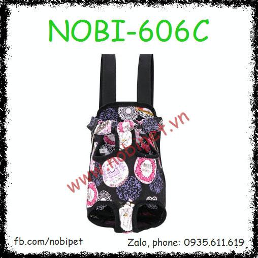 Địu Chó Mèo Baby Thời Trang Đi Chơi Nobi-606C