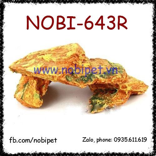 Dốc Đá Sa Mạc Mô Hình Trang Trí Chuồng Nuôi Bò Sát Nobi-643R