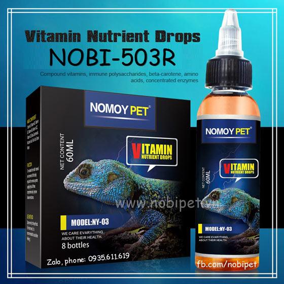 Dung Dịch Vitamin Nutrient Drops Cho Bò Sát Nobi-503R