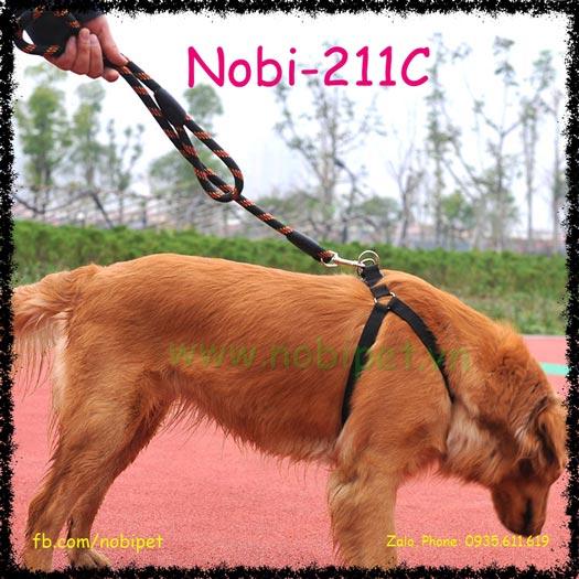 Enino Dây Dắt Chó Cường Lực Trọn Bộ Nobi-211C