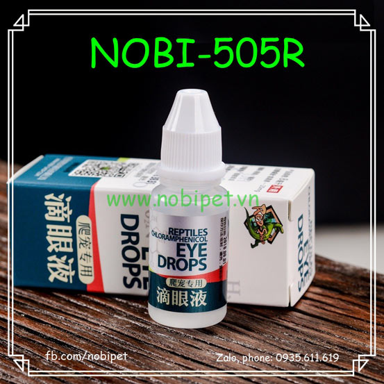 Eye Drop RS Thuốc Nhỏ Trị Viêm Mắt Rùa Và Bò Sát Nobi-505R