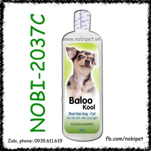 Fay Baloo Kool 300ml Sữa Tắm Cho Chó Mèo Lông Ngắn Nobi-2037C