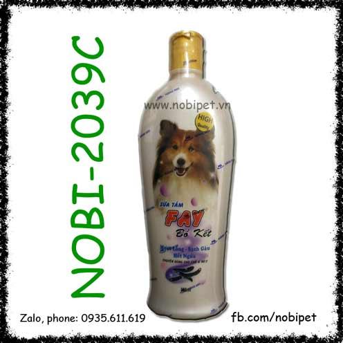 Fay Bồ Kết Sữa Tắm Giảm Rụng Và Mượt Lông Cho Chó Mèo NOBI-2039C